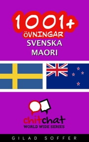 1001+ övningar svenska - Maori ebook by Gilad Soffer
