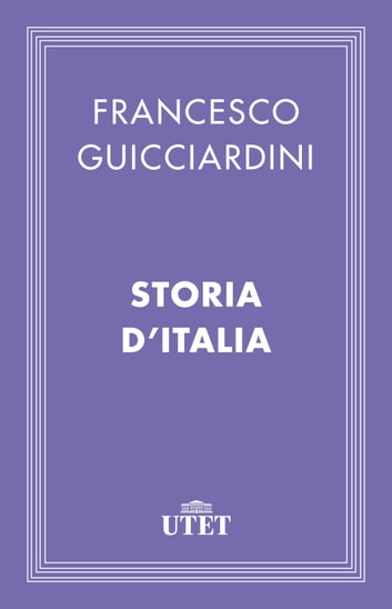 Storia d'Italia ebook by Francesco Guicciardini