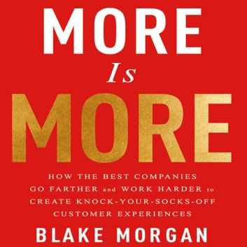 More is More - How the Best Companies Go Farther and Work Harder to Create Knock-Your-Socks-Off Customer Experiences audiobook by Blake Morgan