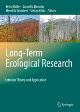 Long-Term Ecological Research - Between Theory and Application ebook by