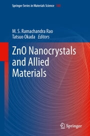 ZnO Nanocrystals and Allied Materials ebook by