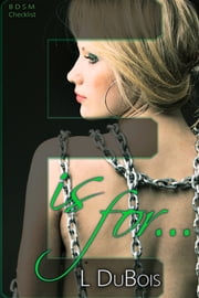 E is for… ebook by Lila Dubois