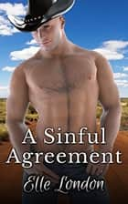 A Sinful Agreement - A Cowboy Fantasy ebook by Elle London