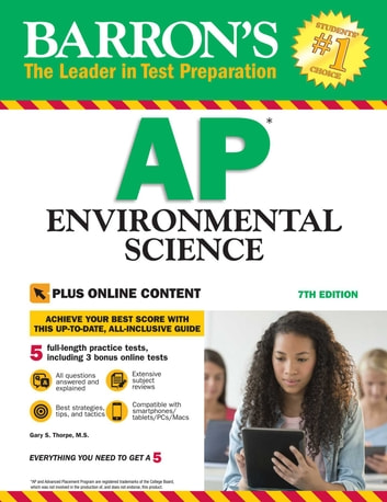 Barron's AP Environmental Science With Online Tests ebook by Gary S. Thorpe M.S.