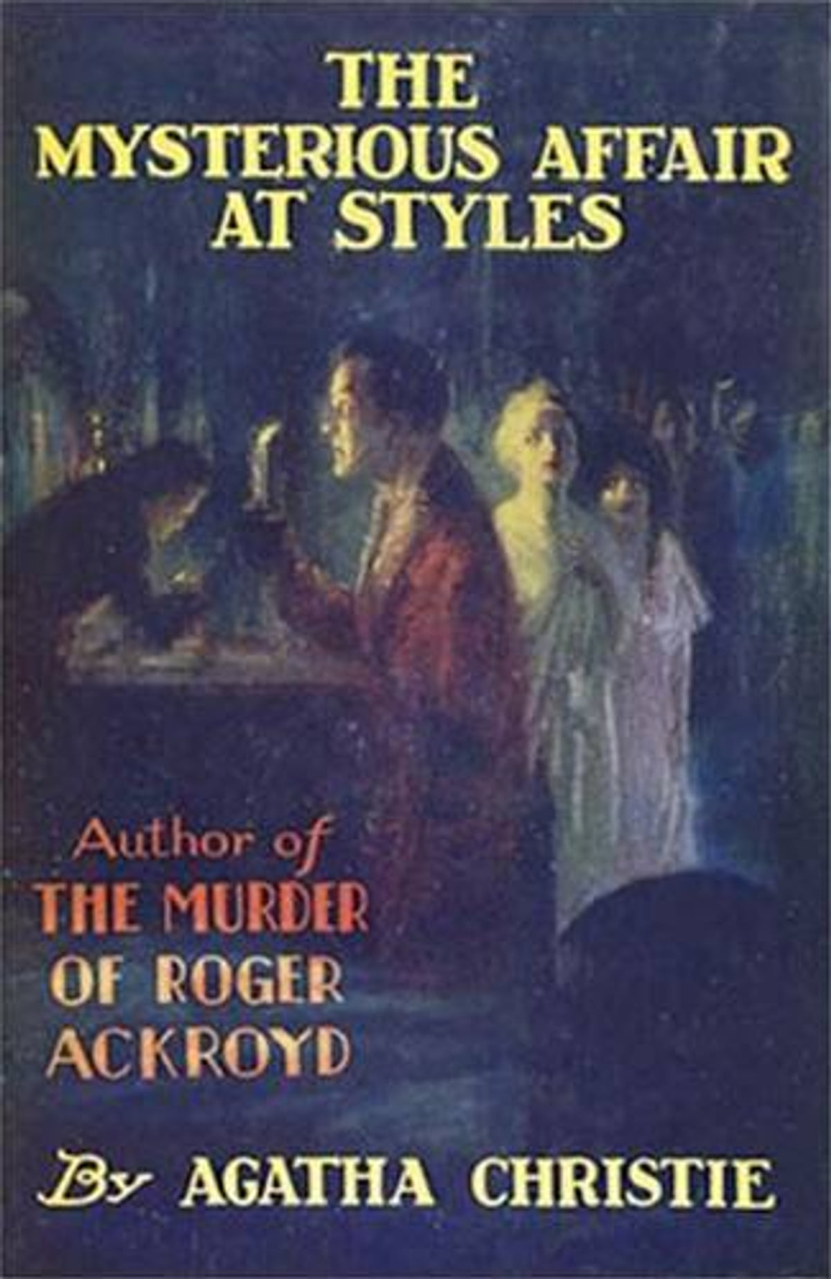 the mysterious affair at styles: a detective story ebook by agatha