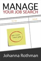 Manage Your Job Search ebook by Johanna Rothman