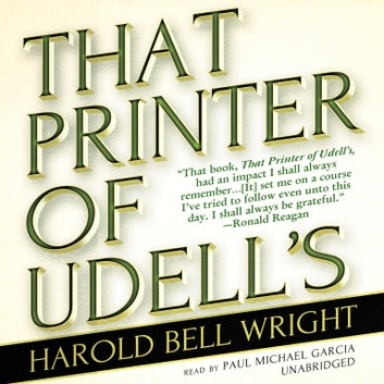 That Printer of Udell's audiobook by Harold Bell Wright