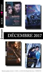 8 romans Black Rose (n°454 à 457 - Décembre 2017) ebook by Collectif