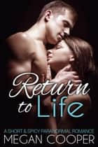 Return to Life ebook by Megan Cooper