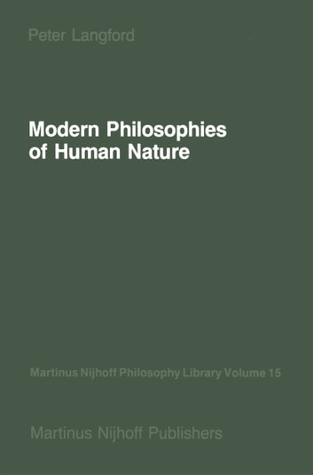 Modern Philosophies of Human Nature - Their Emergence from Christian Thought ebook by P. Langford