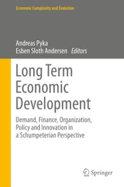 Long Term Economic Development - Demand, Finance, Organization, Policy and Innovation in a Schumpeterian Perspective ebook by
