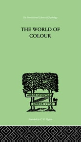 The World Of Colour ebook by Katz, David