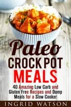 Paleo Crock Pot Meals: 40 Amazing Low Carb and Gluten Free Recipes and Dump Meals for a Slow Cooker - Paleo Meals ebook by
