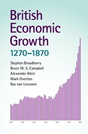 British Economic Growth, 1270–1870 ebook by Stephen Broadberry,Alexander Klein,Mark Overton,Bas van Leeuwen,Bruce M. S. Campbell
