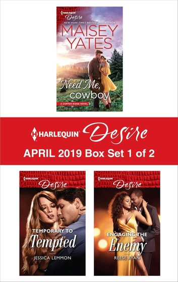 Harlequin Desire April 2019 - Box Set 1 of 2 ebook by Maisey Yates,Jessica Lemmon,Reese Ryan
