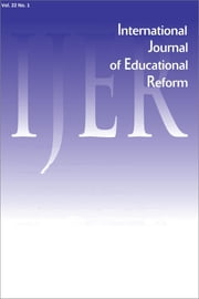 IJER Vol 22-N1 ebook by International Journal of Educational Reform