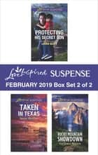 Harlequin Love Inspired Suspense February 2019 - Box Set 2 of 2 - An Anthology ebook by Laura Scott, Susan Sleeman, Victoria Austin