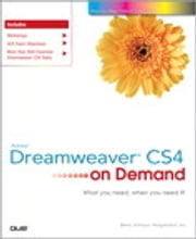 Adobe Dreamweaver CS4 on Demand ebook by Steve Johnson,Perspection Inc.