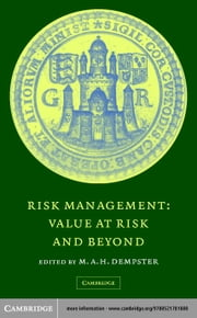 Risk Management ebook by Dempster, M. A. H.