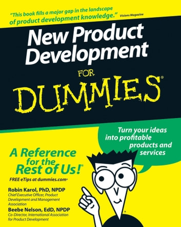 New Product Development For Dummies ebook by Robin Karol,Beebe Nelson