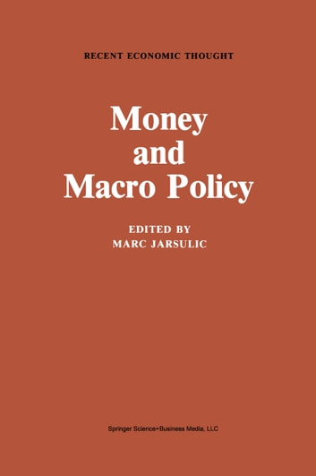 Money and Macro Policy ebook by