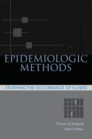 Epidemiologic Methods - Studying the Occurrence of Illness ebook by Thomas D. Koepsell,Noel S. Weiss
