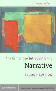 The Cambridge Introduction to Narrative ebook by H. Porter Abbott