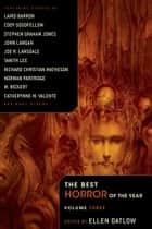The Best Horror of the Year Volume 3 電子書籍 Ellen Datlow