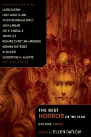 The Best Horror of the Year Volume 3 ebook by