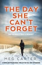 The Day She Can't Forget - A compelling psychological thriller that will keep you guessing ebook by Meg Carter