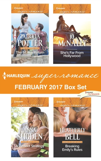 Harlequin Superromance February 2017 Box Set - An Anthology 電子書 by Patricia Potter,Anna Sugden,Jo McNally,Heatherly Bell