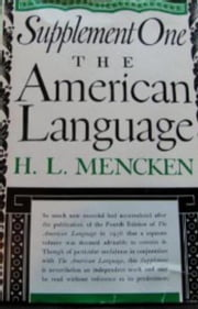 American Language Supplement 1 ebook by H.L. Mencken