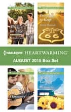 Harlequin Heartwarming August 2015 - Box Set - Time for Love\Molly's Garden\Two-Part Harmony\Promises to Keep ebook by Melinda Curtis, Roz Denny Fox, Syndi Powell,...