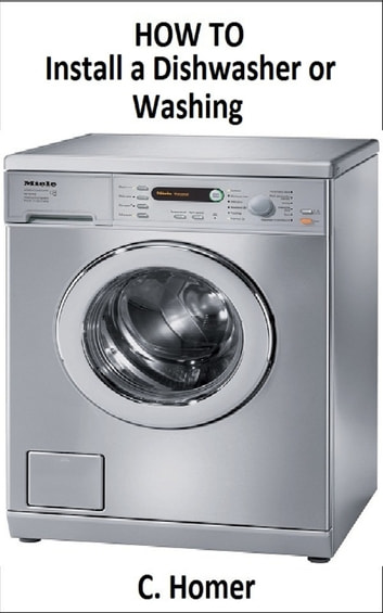 How to install a dishwasher or washing photo