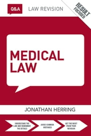 Q&A Medical Law ebook by Jonathan Herring