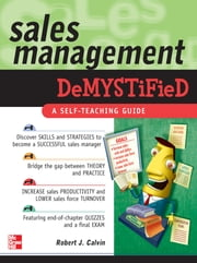 Sales Management Demystified ebook by Robert Calvin