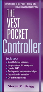 The Vest Pocket Controller ebook by Steven M. Bragg