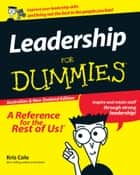 Leadership For Dummies ebook by Kris Cole