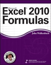 Excel 2010 Formulas ebook by John Walkenbach