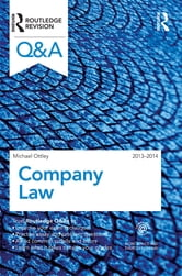 Q&A Company Law 2013-2014 ebook by Mike Ottley