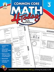Common Core Math 4 Today, Grade 3: Daily Skill Practice ebook by McCarthy, Erin