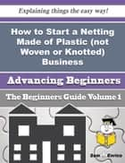 How to Start a Netting Made of Plastic (not Woven or Knotted) Business (Beginners Guide) ebook by Anastacia Hurley