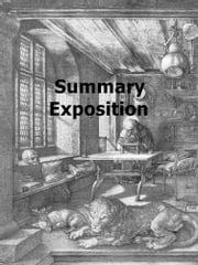 Summary Exposition ebook by Emanuel Swedenborg