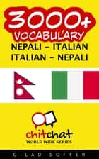 3000+ Vocabulary Nepali - Italian ebook by Gilad Soffer