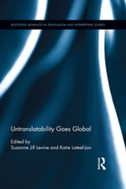 Untranslatability Goes Global ebook by