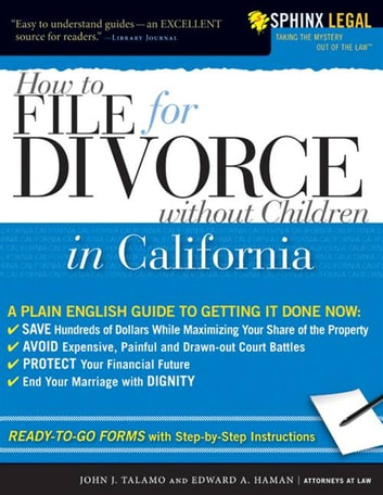 How To File For Divorce In California Without Children Ebook By Edward HamanJohn Talamo