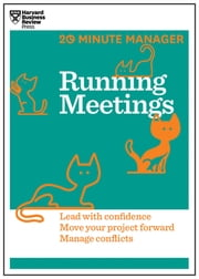 Running Meetings (HBR 20-Minute Manager Series) ebook by Harvard Business Review
