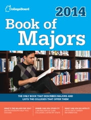 Book of Majors 2014 ebook by The College Board