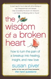 The Wisdom of a Broken Heart - An Uncommon Guide to Healing, Insight, and Love ebook by Susan Piver