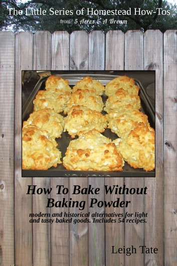 How To Bake Without Baking Powder: Modern and Historical Alternatives for Light and Tasty Baked Goods ebook by Leigh Tate